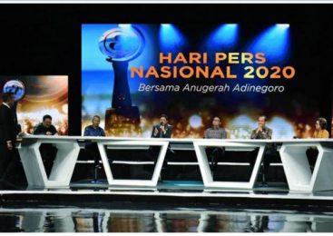 INSAN PERS RAIH PENGHARGAAN ADINEGORO 2019-HPN 2020.